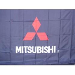 Mitsubishi Automotive Logo 3'x 5' Flag