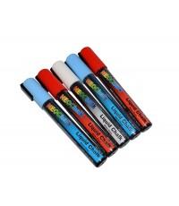 """1/4"""" Stars N Stripes Liquid Chalk Full 5 Pc Set"""