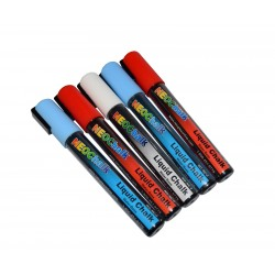 "1/4"" Stars N Stripes Liquid Chalk Full 5 Pc Set"