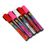 "1/4"" Sweet Heart Liquid Chalk Full 5 Pc Set"