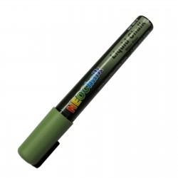 "1/4"" Chisel Tip Earth Tone Liquid Chalk Marker - Sage Green"