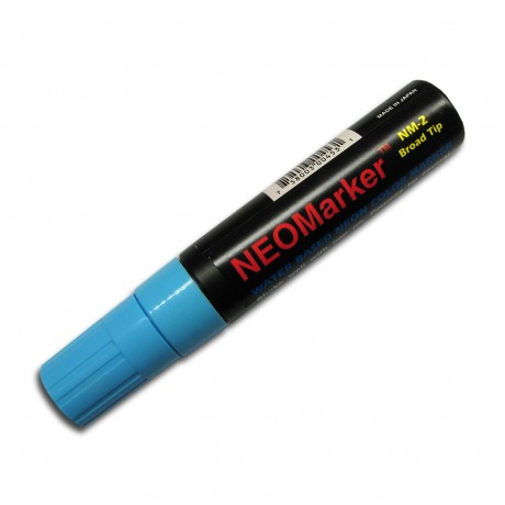 "1/2"" Wide Tip Blue Waterproof Sign & Art Marker Pen"