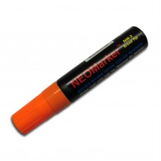 "1/2"" Wide Tip Orange Waterproof Sign & Art Marker Pen"