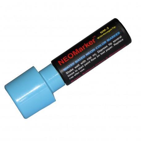 """1-1/4"""" Extra Bold Waterproof Marker Pen - Blue"""