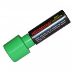 "1-1/4"" Extra Bold Green Waterproof Sign & Art Marker Pen"