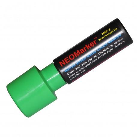 """1-1/4"""" Extra Bold Waterproof Marker Pen - Green"""