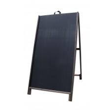 """48"""" Hardwood A-Frame - Chalkboard Black Panels"""