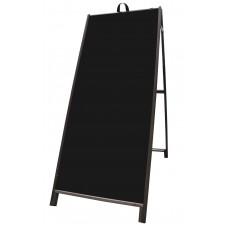 """60"""" Hardwood A-frame - Acrylic Black Panels"""