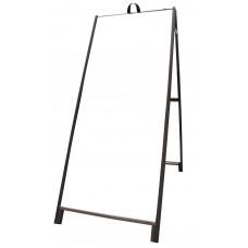"60"" Hardwood A-frame - Corex White Panels"