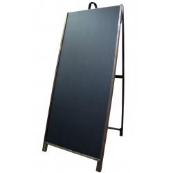 """60"""" Hardwood A-frame - Chalkboard Black Panels"""