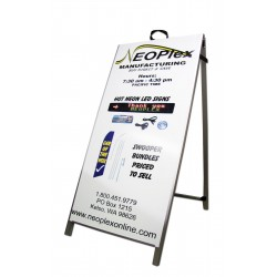 "48"" Aluminum A-Frame - Custom Color Posters"