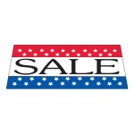 Sale Patriotic Vinyl Windshield Banner