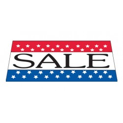 Sale Patriotic Vinyl Windshield Banner