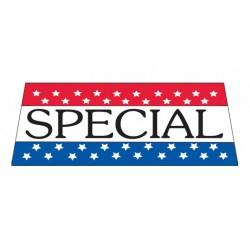 Special Patriotic Vinyl Windshield Banner