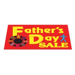 Father's Day Sale Vinyl Windshield Banner