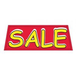 Sale Red Vinyl Windshield Banner