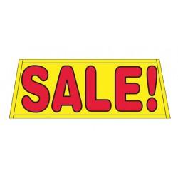 Sale Yellow Vinyl Windshield Banner