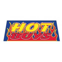 Hot Buys Vinyl Windshield Banner