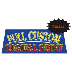 Custom Digital Print Car Window Banner