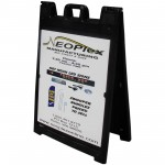 Signicade A-Frame Sidewalk Sign Custom Poster Message Panels