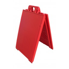 Signicade A-Frame Sidewalk Sign Red Frame Only