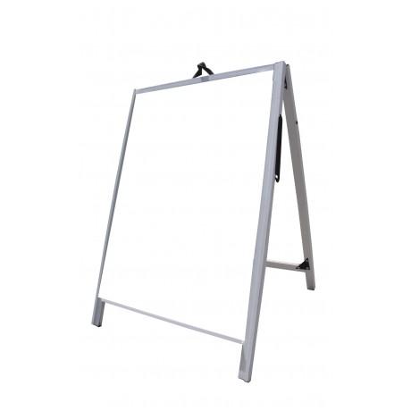 """36"""" PVC A-Frame Sign - Corex White Panels"""