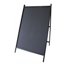 Steel A-Frame Sidewalk Sign-Chalkboard
