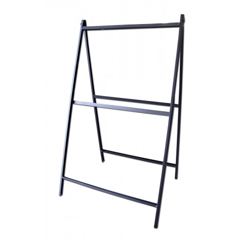 steel a-frame sign - frame only  nss-2436fo