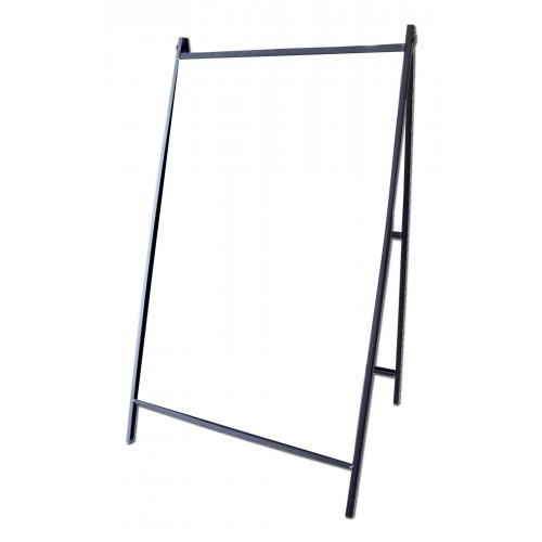 steel a-frame sidewalk sign-corex  nss-2436apb  w
