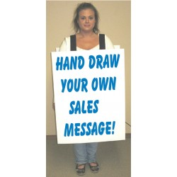 Wearable Walk Around Sandwich Boards