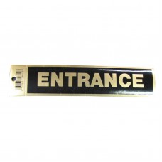 Gold Entrance Policy Business Sticker