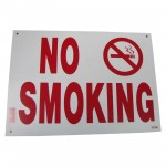 No Smoking Policy Business Sign