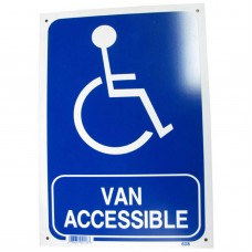 Van Accessible Policy Business Sign