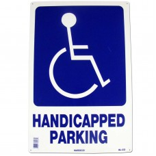 Handicap Parking Symbol Policy Business Sign