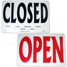Open/Closed Double Sided Business Sign