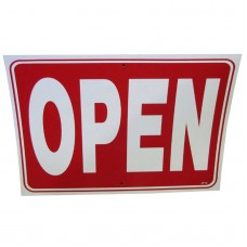Open-Closed Policy Business Sign