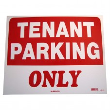 Tenant Parking Only Policy Business Sign