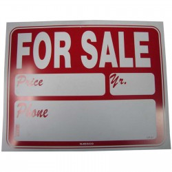 For Sale (Price/Yr/Phone) Policy Business Sign