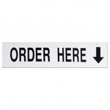 Order Here Policy Business Sign