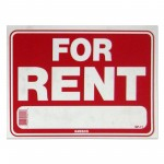 For Rent Policy Business Sign