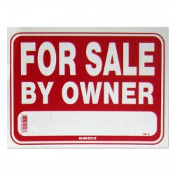 For Sale By Owner Policy Business Sign