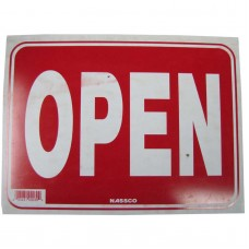 Open Policy Business Sign