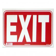 Exit Policy Business Sign