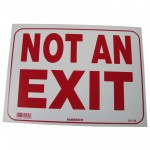 Not An Exit Policy Business Sign