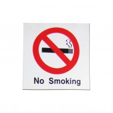 No Smoking Symbol Policy Business Sign