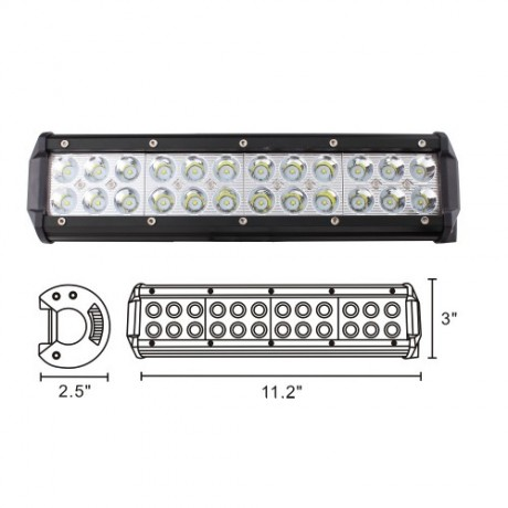 Black Diamond 7200 LUMENS 72 Watt 13.5
