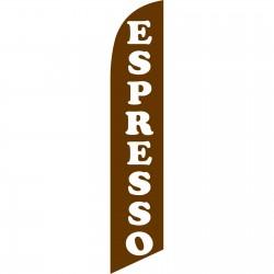 Espresso Brown Windless Swooper Flag