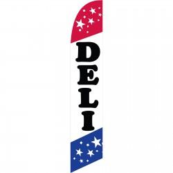Deli Patriotic Windless Swooper Flag