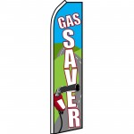 Gas Saver Road Swooper Flag