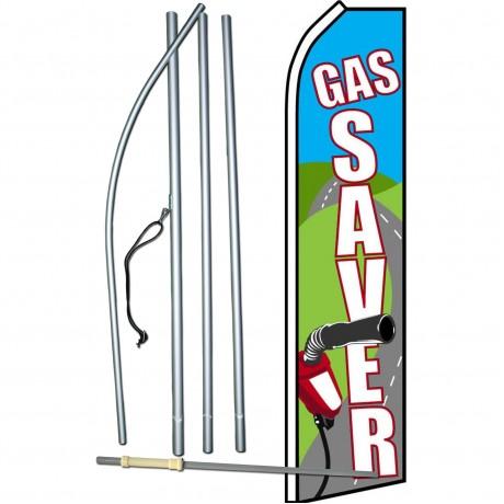 Gas Saver Road Swooper Flag Bundle